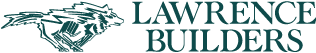 Lawrence Builders wolf logo